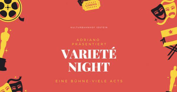 Flyer Variété-Night Idstein
